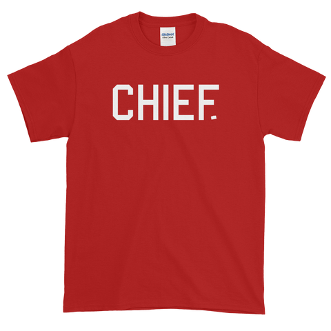 CHIEF University - Crimson Tee - CHIEF Merch