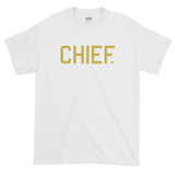 CHIEF University - Old Gold Tee - CHIEF Merch