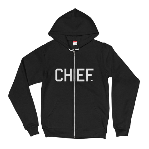 CHIEF University: Zip-Up Sweater - CHIEF Merch