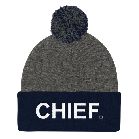 CHIEF Originals: Pom Knit Cap - CHIEF Merch