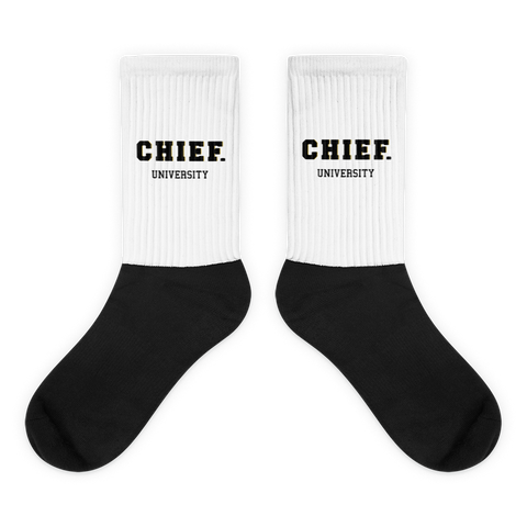 CHIEF University: Spirit Socks - CHIEF Merch