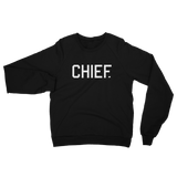 CHIEF University: Fleece Raglan Sweatshirt - CHIEF Merch