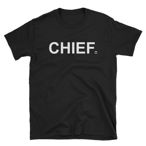 CHIEF Original - BLK Tee - CHIEF Merch