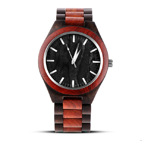 Stripe Wooden Wristwatch - CHIEF Merch