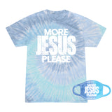 More Jesus Please OCEANS Tee and Mask Combo