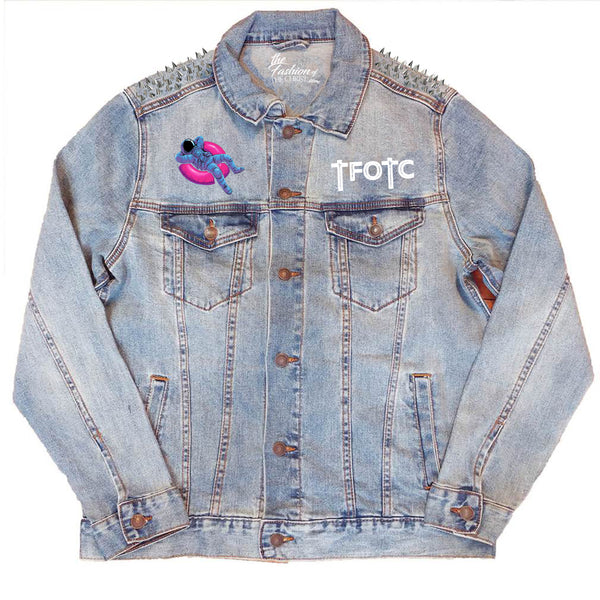 SPIKED NOT Of This World JEAN JACKET