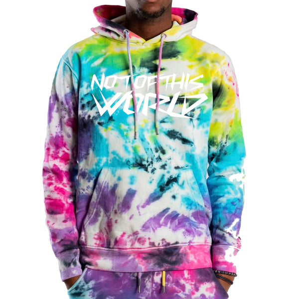 NOT Of This World OG Tie Dye Hoodie