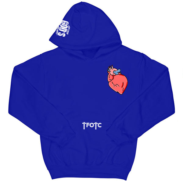 Premium After Gods OWN HEART Hoodie Royal Blue