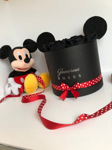 Large Black Mickey Mouse Box