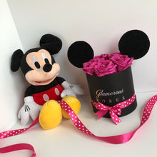 Load image into Gallery viewer, Small black Minnie Mouse box