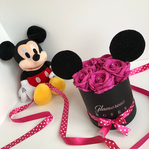 Small black Minnie Mouse box