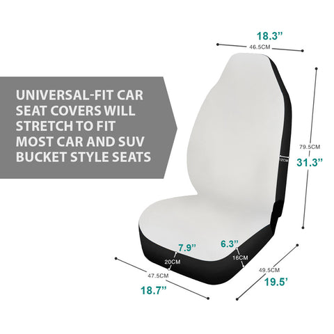 bucket seat covers size chart