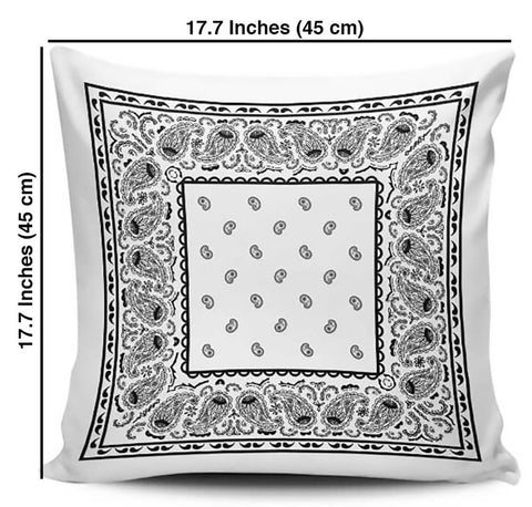 throw pillow size