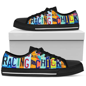 Racing Chick Low Top Sneakers for Women