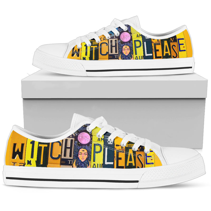 Witch Please Low Top Sneaker for Women