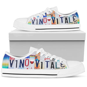 Vino Vitale Low Top Sneakers for Women