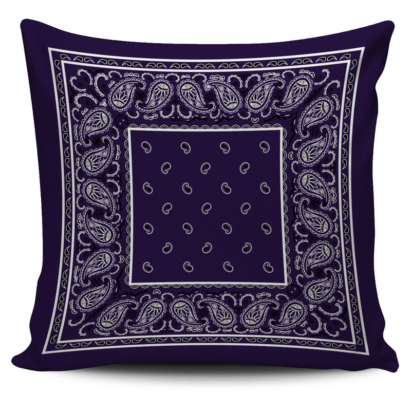 purple scatter pillow