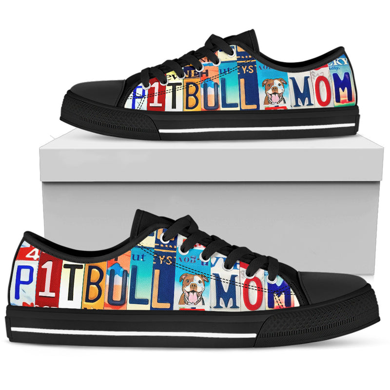 Pitbull Mom Low Top Sneakers for Women