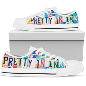 Pretty In Ink Low Top Sneakers for Women