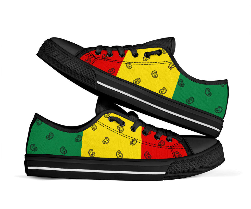 rasta flag color sneaker