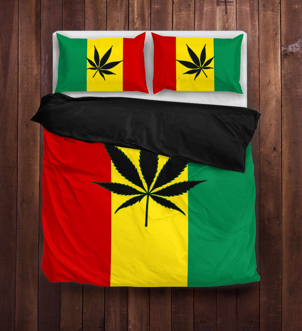 420 Rasta Duvet Cover Sets