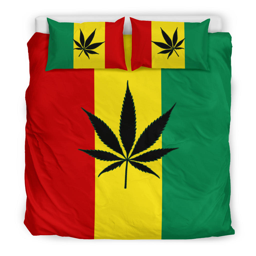 Mary Jane's Rasta Duvet Cover Sets King