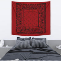Red with Black Bandana  wall art