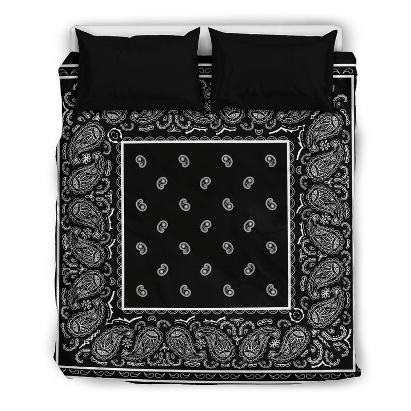 Queen Bandana Duvet Cover Set