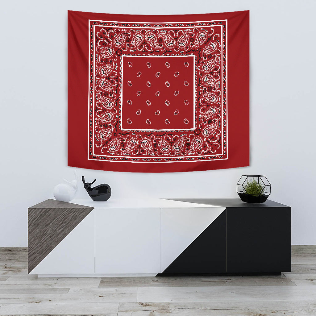 Red Bandana Tapestry