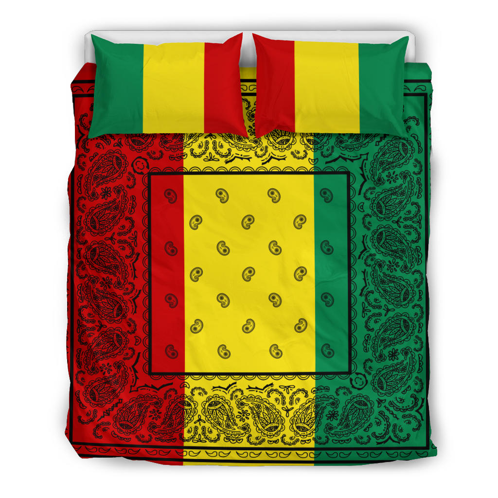 Rasta Bandana Duvet Cover Sets