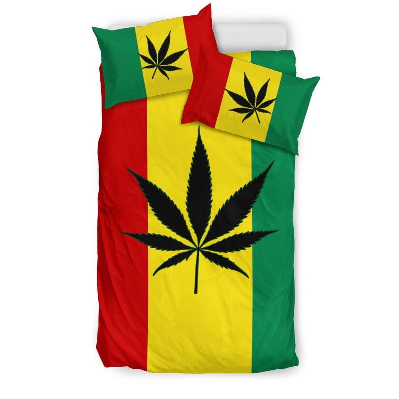 Mary Jane's Rasta Duvet Cover Sets Twin