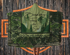 RVing Hooded blanket