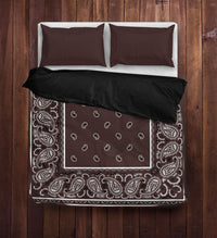 Brown Duvet Cover Set