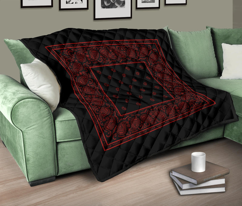 Black and Red Bandana Quilts