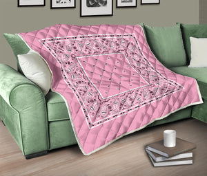 Light Pink Bandana Bedding