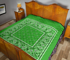 Lime Green Bandana Quilts