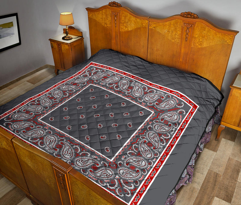 Gray Bandana Quilts