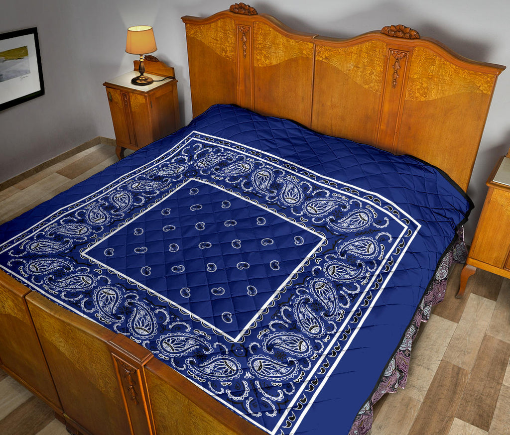 Royal Blue Bandana Quilts