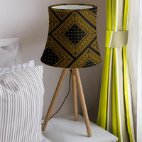 Black Gold Bandana Drum Lampshade