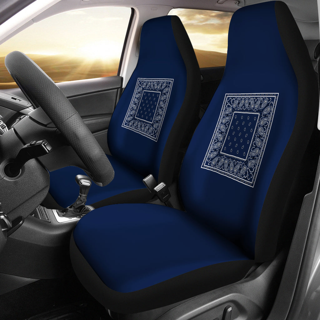 navy blue car seat cover