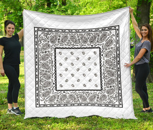 White Bandana Quilts