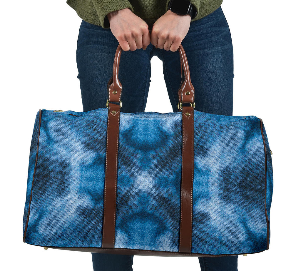 bohemian blue carry on bag