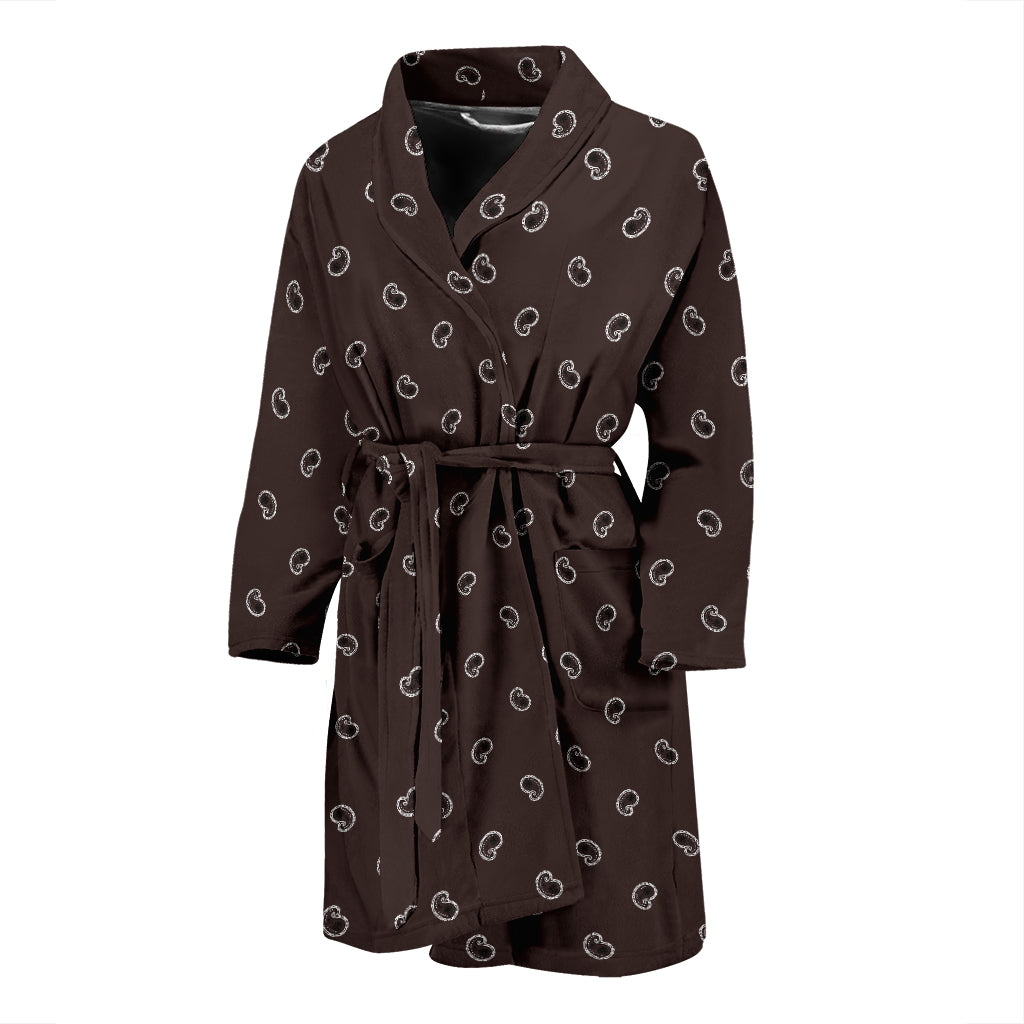 brown bathrobes for men