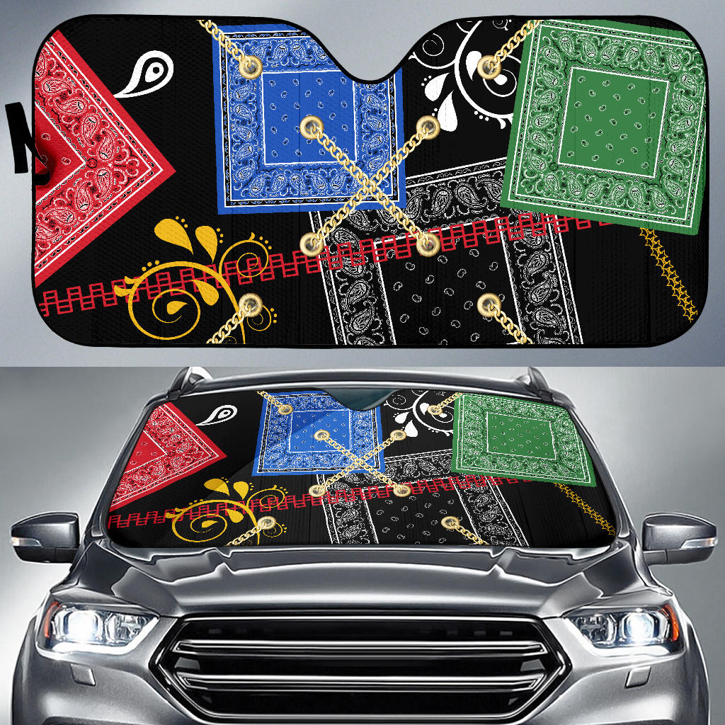 Bandana Car Window Shade
