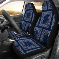 Navy blue car seat covers