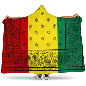 Ultimate Rasta Bandana Hooded Blanket