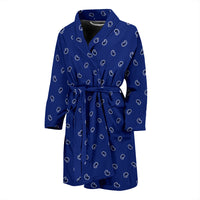 royal blue men's robe