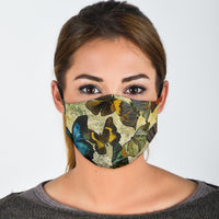 butterfly covid face masks