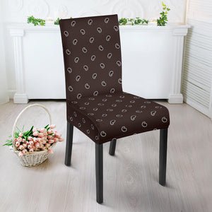 Brown Bandana Dining Chair Covers