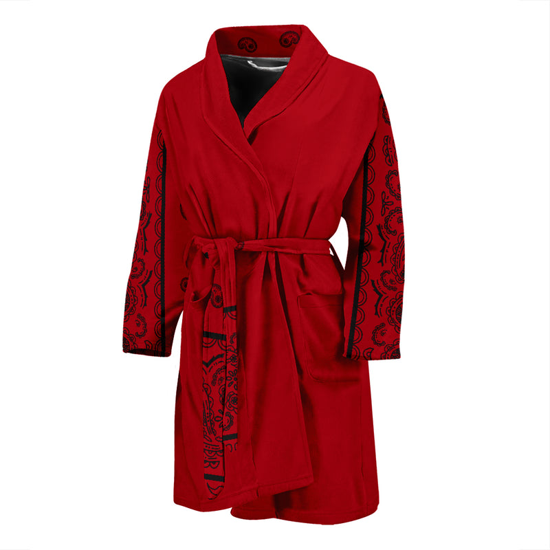 red and black robe